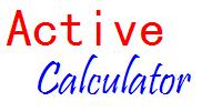Click here for more info about Active Calculator Component